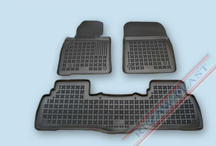 Gumové autokoberce Rezaw-Plast Toyota Land Cruiser 200 2007-2012