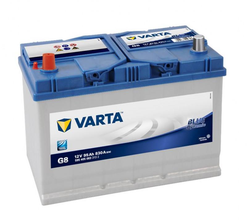 Autobaterie 95Ah Varta Blue Dynamic G8