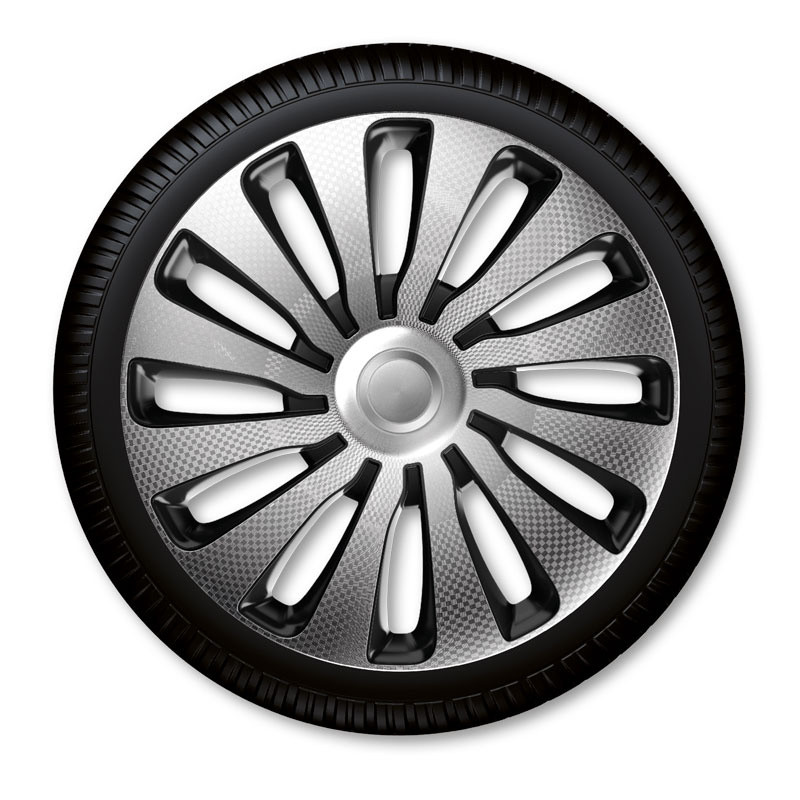 "Poklice Sepang Carbon Silver Black - 16"""