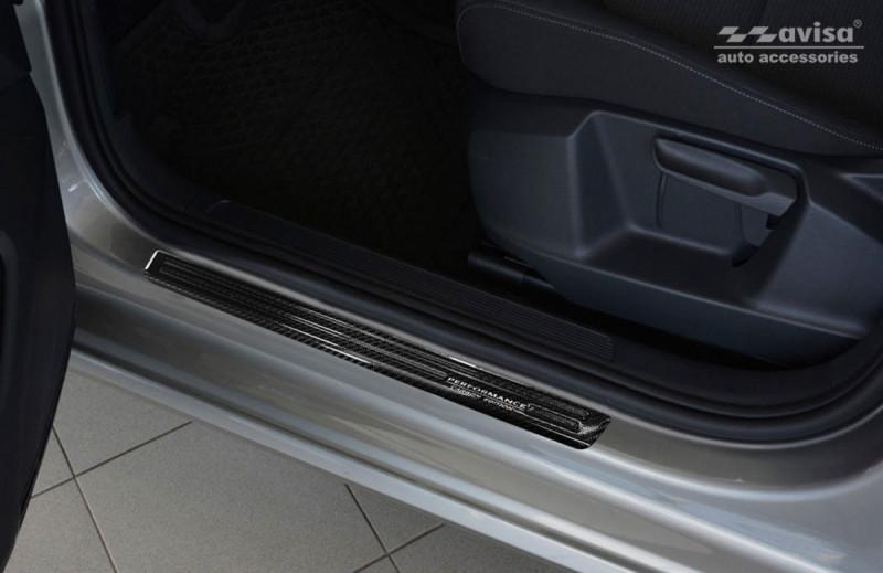 Prahové lišty VW Golf VII. Sportsvan 2014- (carbon)