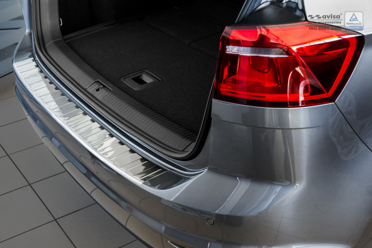 Ochranná lišta hrany kufru VW Golf Sportsvan 2014- (chrom)