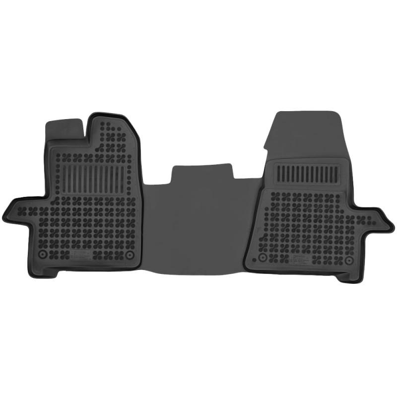 Gumové autokoberce Rezaw-Plast Ford Transit/Tourneo Custom 2012-2018 (2 místa, přední)