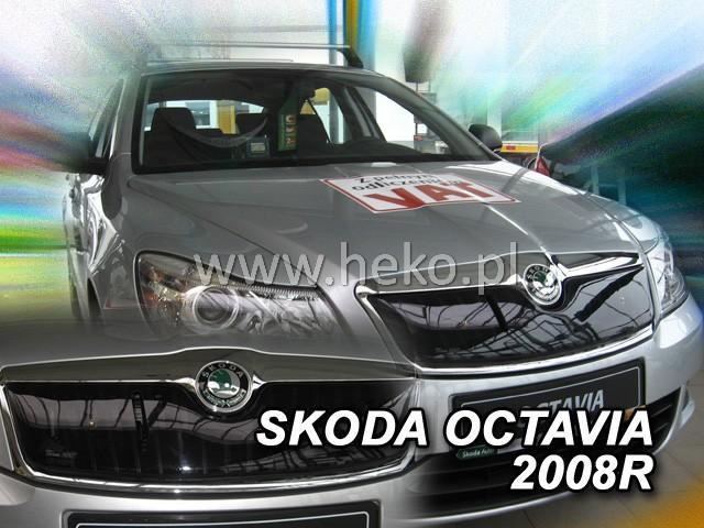 Zimní clona chladiče Škoda Octavia II. 2009-2013 (horní)