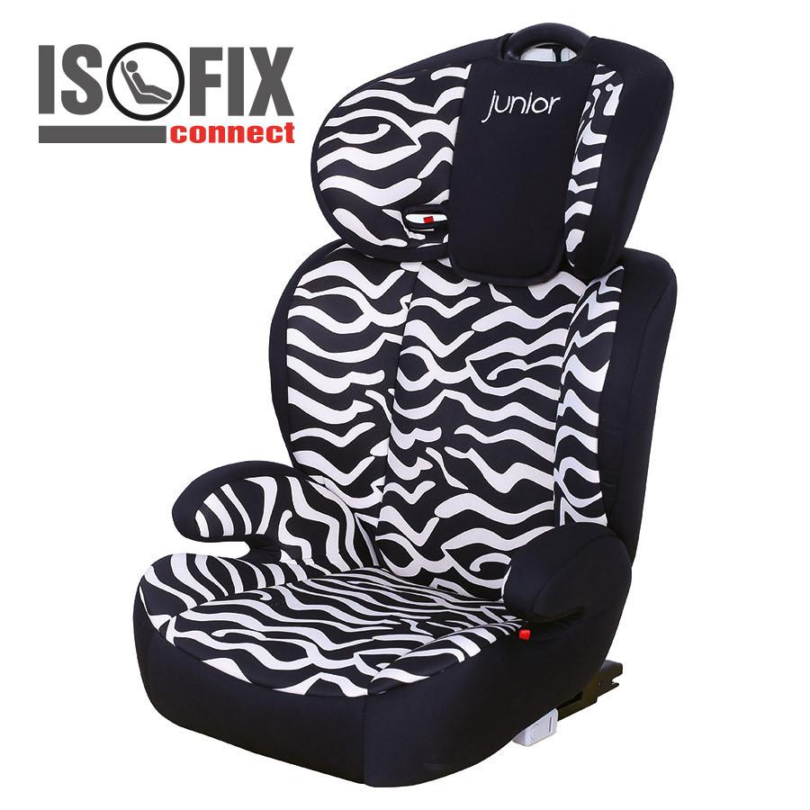 Dětská autosedačka Premium 742 (zebra)