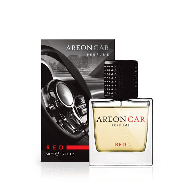 Luxusní parfém do auta Areon Red (50ml, flakón)