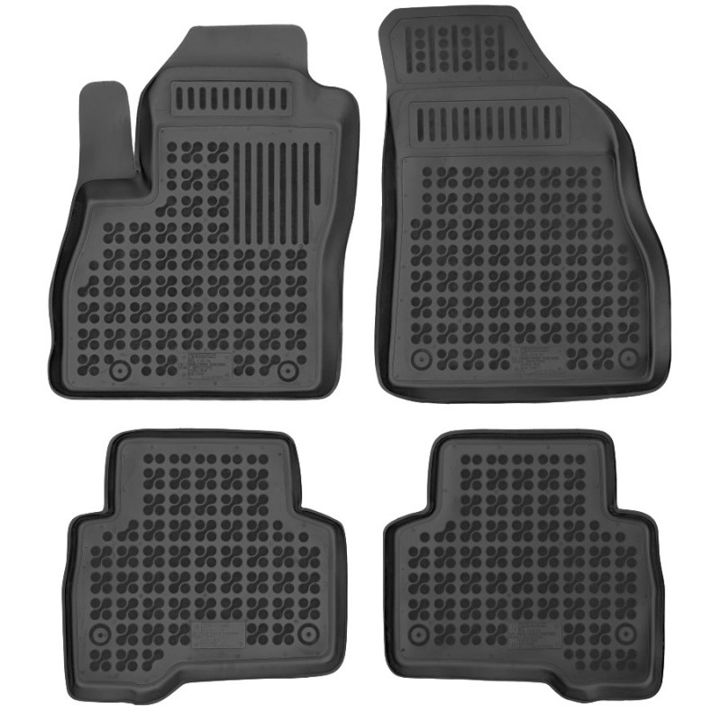 Gumové autokoberce Rezaw-Plast Fiat Fiorino 2008- (5 míst)