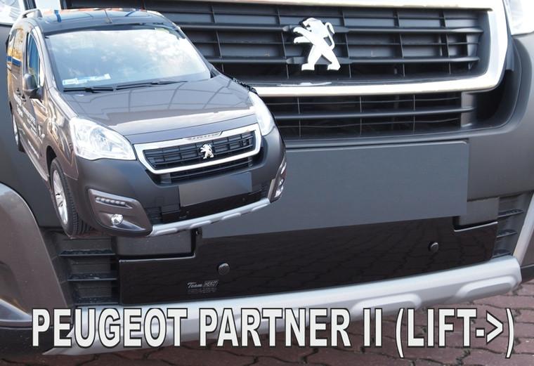 Zimní clona chladiče Peugeot Partner 2015-2018 (dolní)
