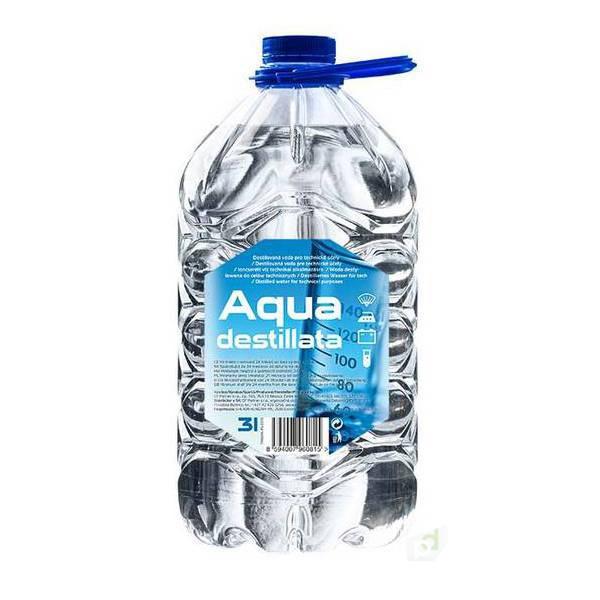 Destilovaná voda (3L)