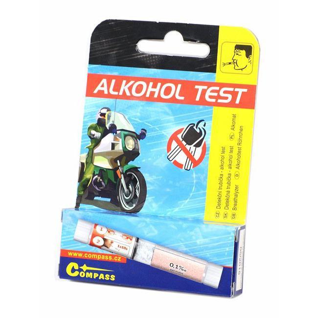 Alkohol tester - detekční trubička