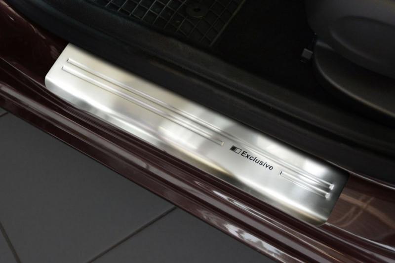 Prahové lišty Opel Astra K 2015- (Exclusive)