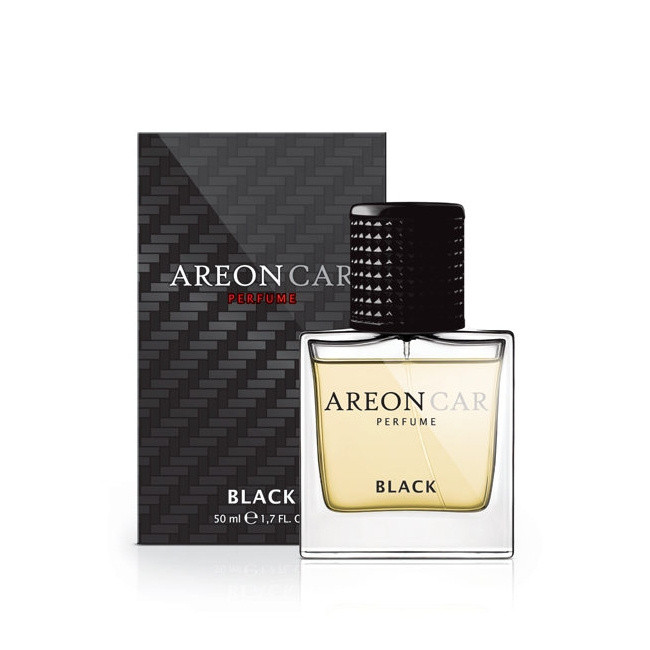 Luxusní parfém do auta Areon Black (100ml, flakón)
