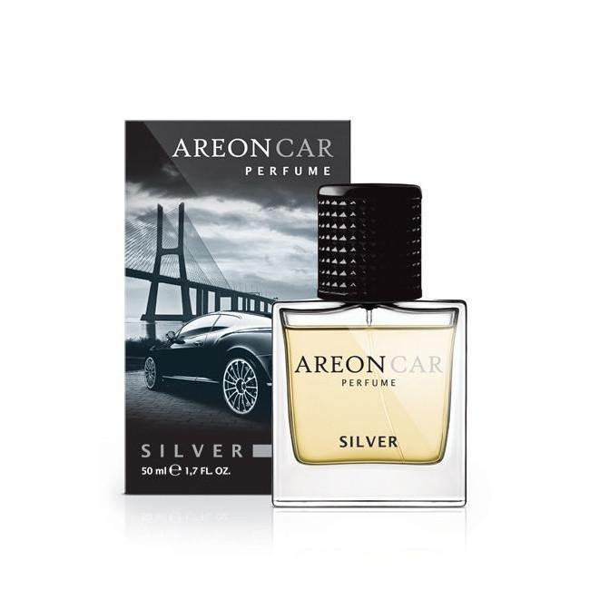 Luxusní parfém do auta Areon Silver (50ml, flakón)