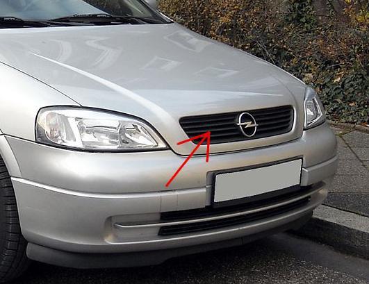Zimní clona chladiče Opel Astra G 1998-2004