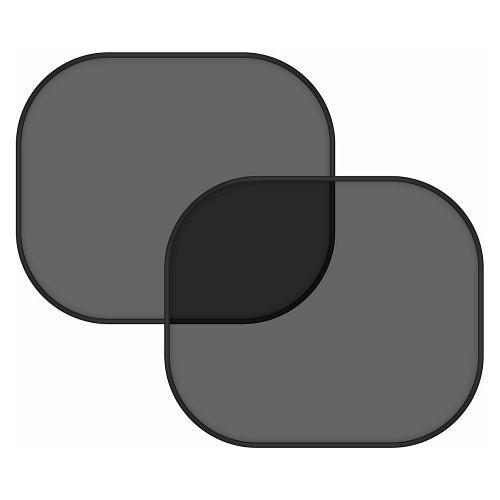 Sluneční clona na boční okno (černá)