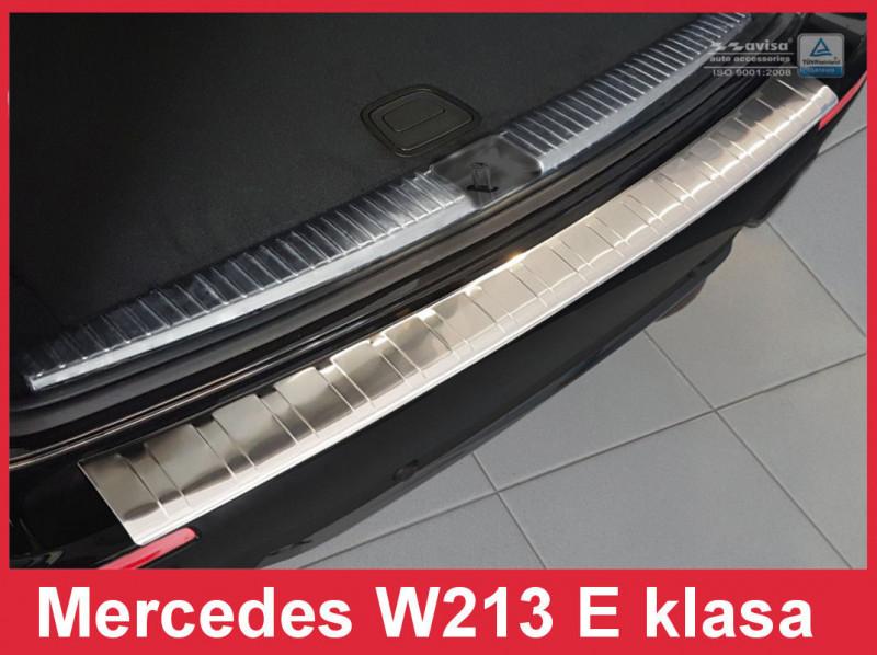 Ochranná lišta hrany kufru Mercedes E-Class 2016- (W213, combi)