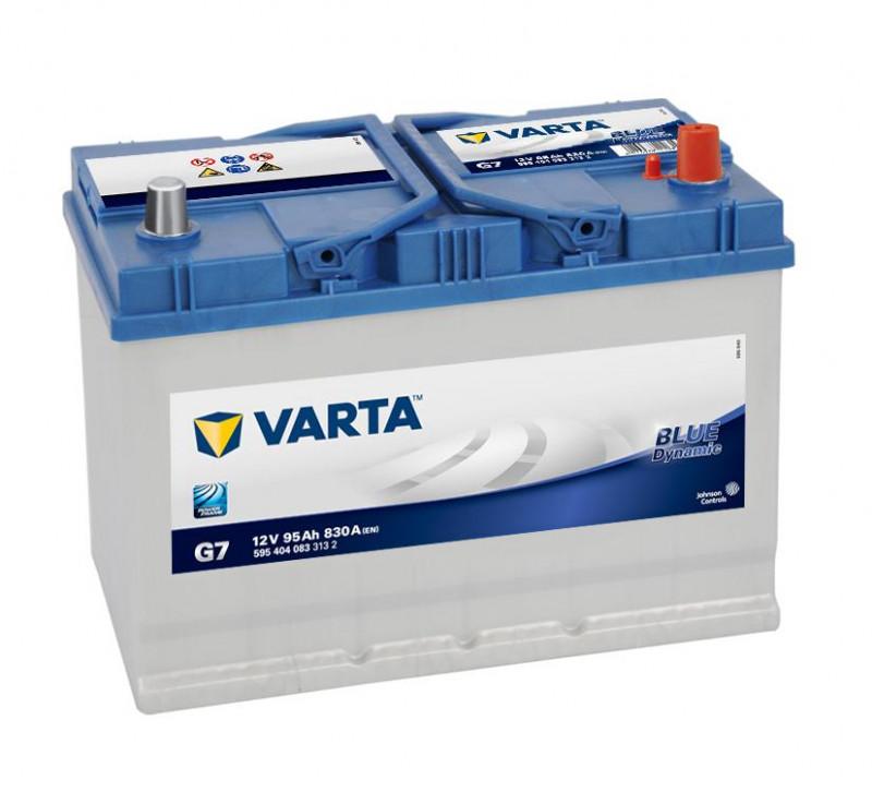 Autobaterie 95Ah Varta Blue Dynamic G7