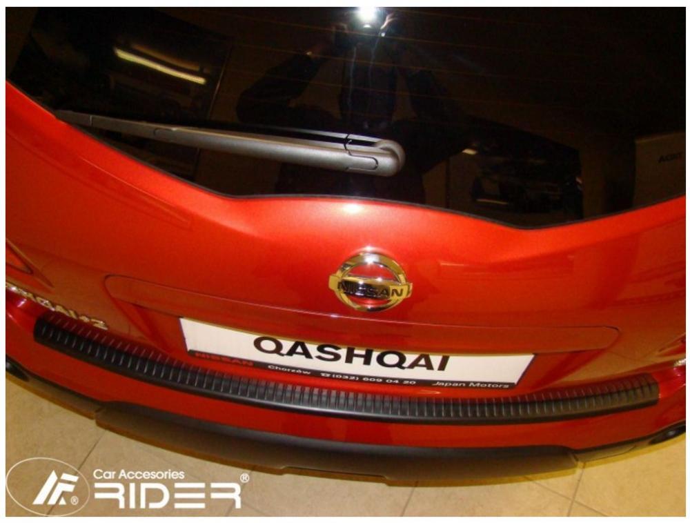 Ochranná lišta hrany kufru Nissan Qashqai +2 2009-2013