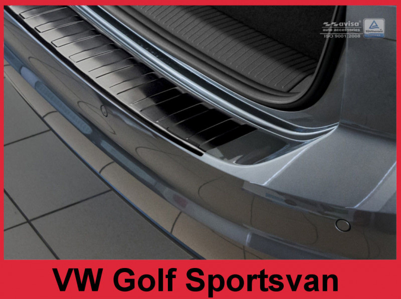 Ochranná lišta hrany kufru VW Golf Sportsvan 2014- (tmavá)
