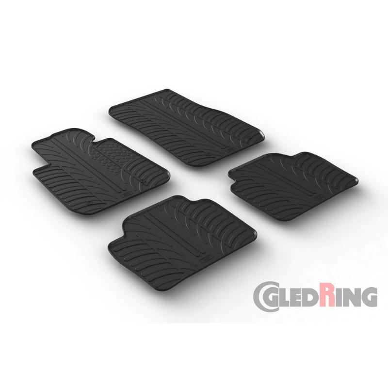 Gumové autokoberce Gledring BMW 3 2012- (F30, F31)