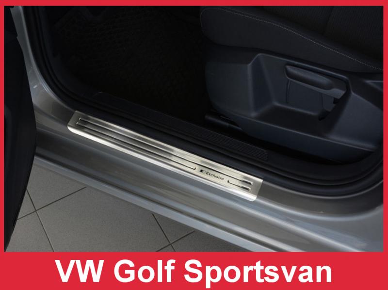 Prahové lišty VW Golf Sportsvan 2014-