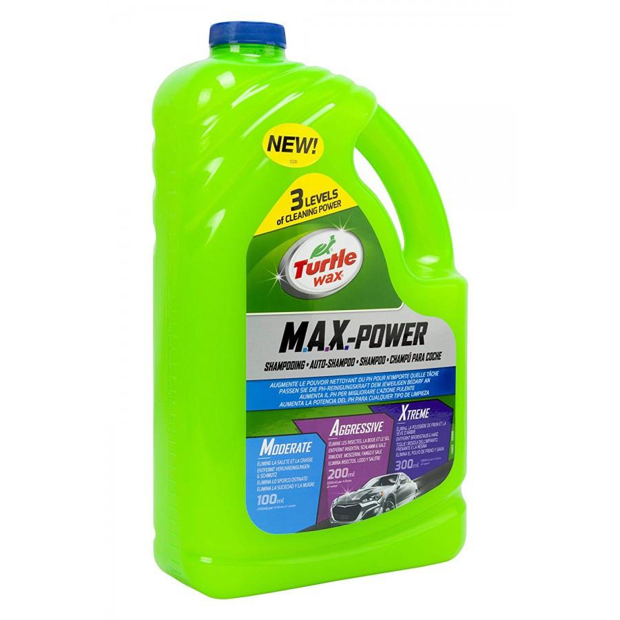 Autošampon Turtle Wax Max Power (koncentrát, 3l)