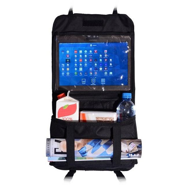 Organizér na sedačku (s kapsou na tablet)