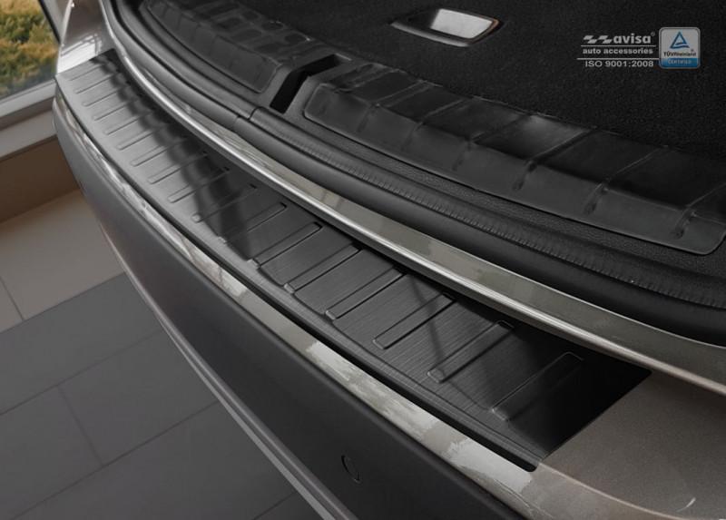 Ochranná lišta hrany kufru BMW X1 2012-2015 (E84, tmavá)