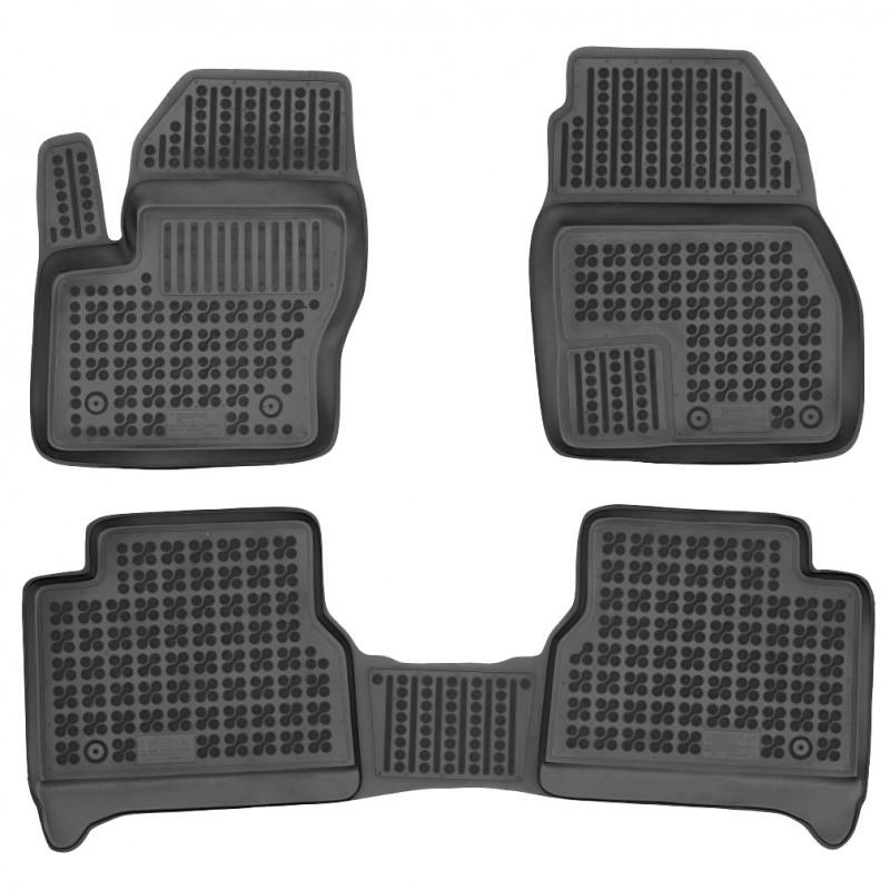 Gumové autokoberce Rezaw-Plast Ford Transit/Tourneo Connect 2014- (5 míst)