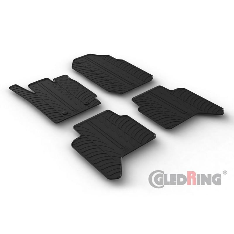 Gumové autokoberce Gledring Ford Ranger 2012-