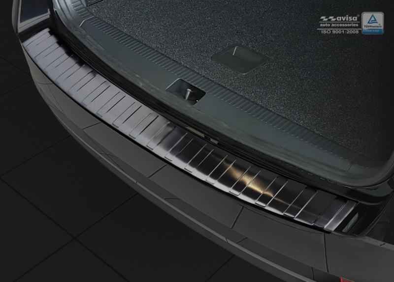 Ochranná lišta hrany kufru Škoda Octavia III. 2016- (combi, tmavá)