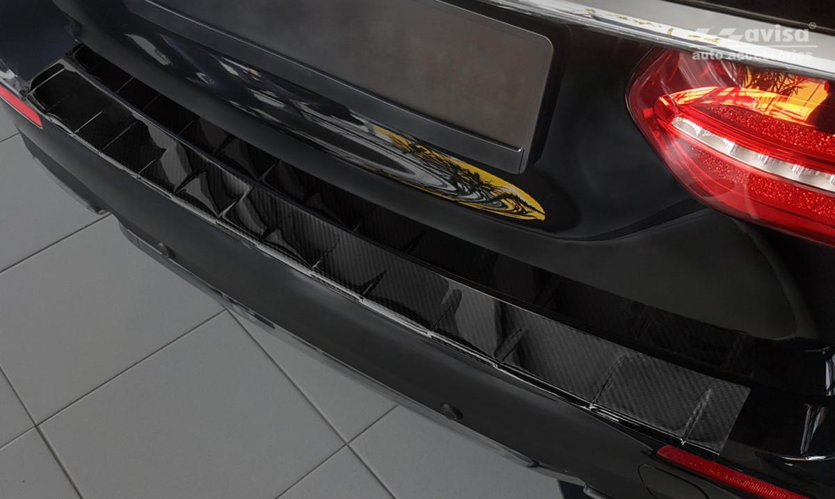 Ochranná lišta hrany kufru Mercedes E-Class 2016- (W213, carbon)
