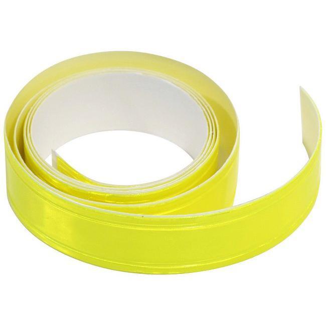 Samolepící reflexní páska - žlutá