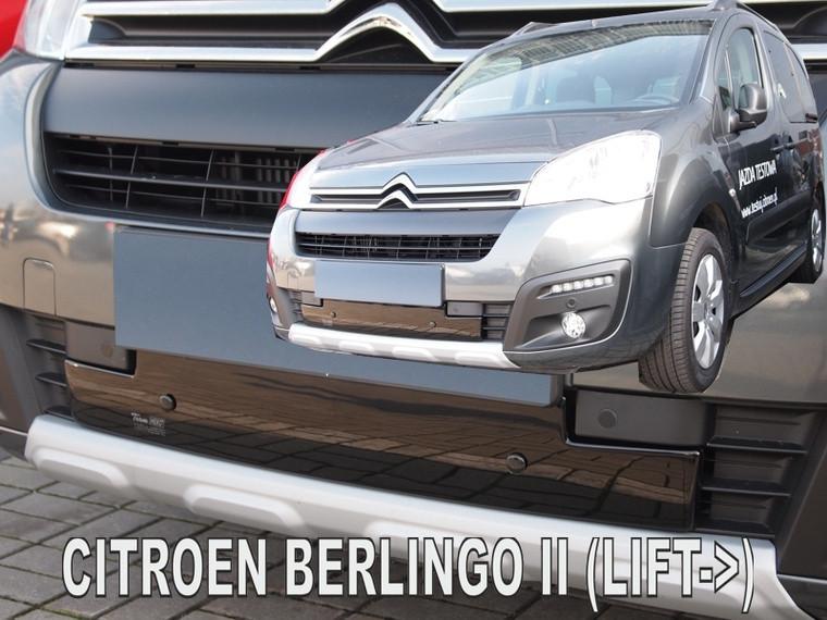 Zimní clona chladiče Citroen Berlingo 2015-2018 (dolní)
