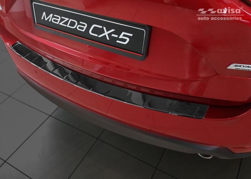 Ochranná lišta hrany kufru Mazda CX-5 2017- (carbon)
