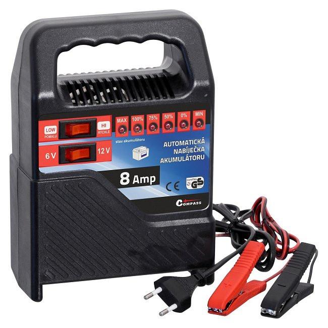Automatická nabíječka autobaterií 15 - 120Ah