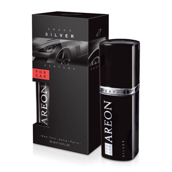 Luxusní parfém do auta Areon Silver (50ml)