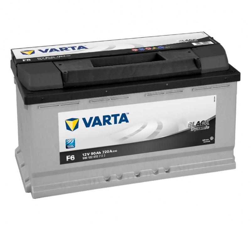 Autobaterie 90Ah Varta Black Dynamic F6