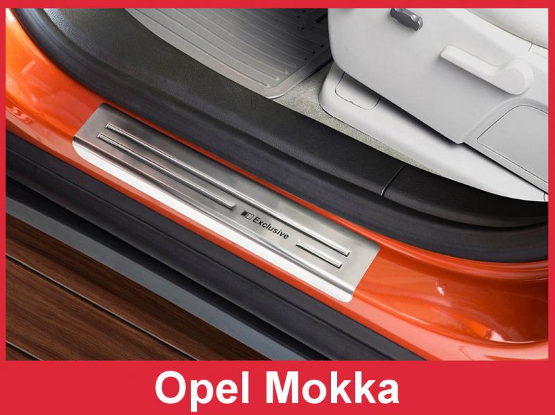 Prahové lišty Opel Mokka 2012-