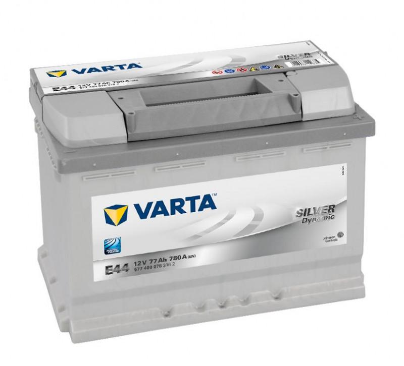 Autobaterie 77Ah Varta Silver Dynamic E44