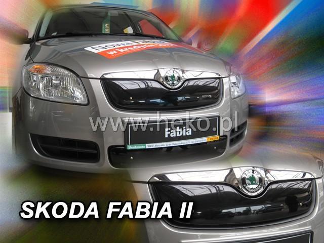 Zimní clona chladiče Škoda Fabia II. 2007-2010 (horní)