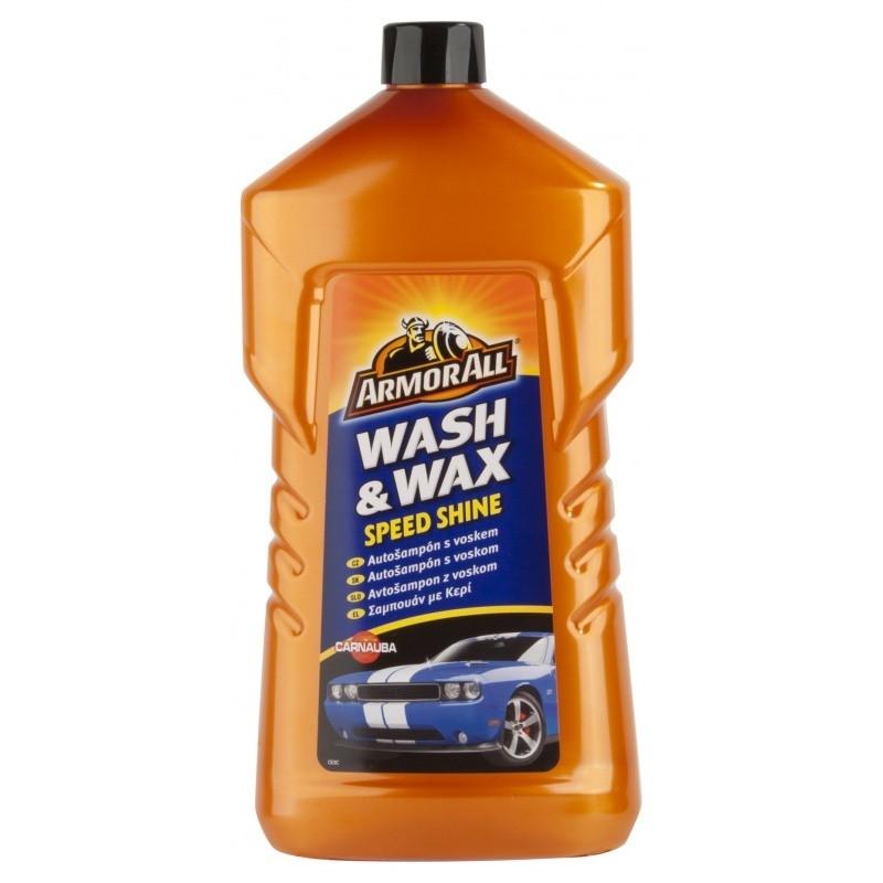 Autošampon s voskem Wash & Wax (1l)