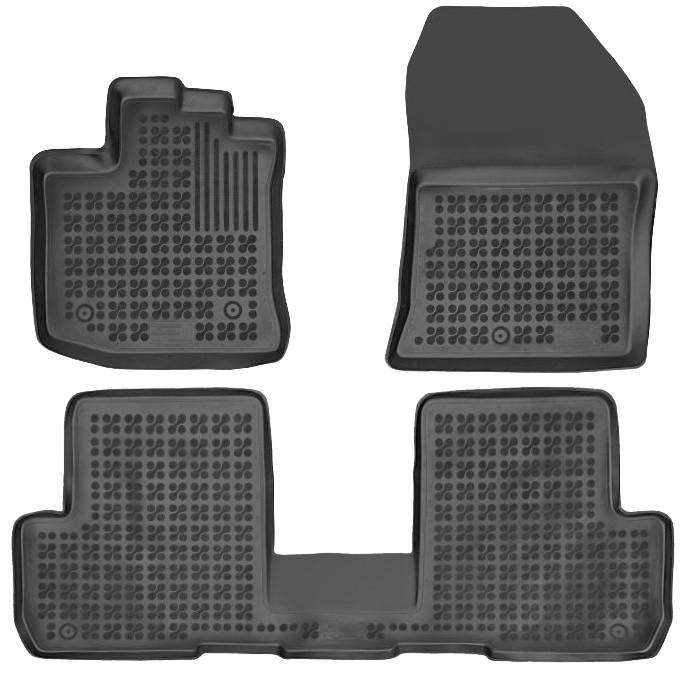 Gumové autokoberce Rezaw-Plast Dacia Lodgy 2012- (5 míst)
