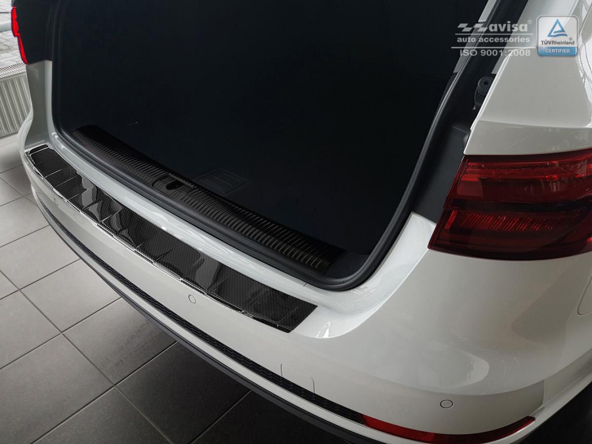 Ochranná lišta hrany kufru Audi A4 2016- (carbon, combi)