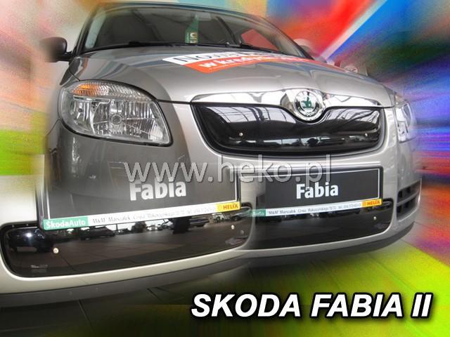 Zimní clona chladiče Škoda Fabia II. 2007-2010 (dolní)
