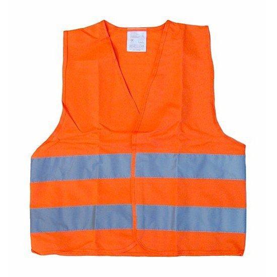 Reflexní vesta dětská - oranžová