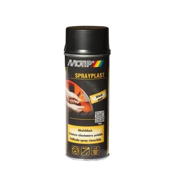 Fólie ve spreji Motip (černá, mat, 400 ml)