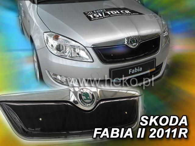 Zimní clona chladiče Škoda Fabia II. 2010-2014 (horní)