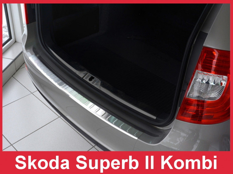 Ochranná lišta hrany kufru Škoda Superb II. 2013-2015 (combi)