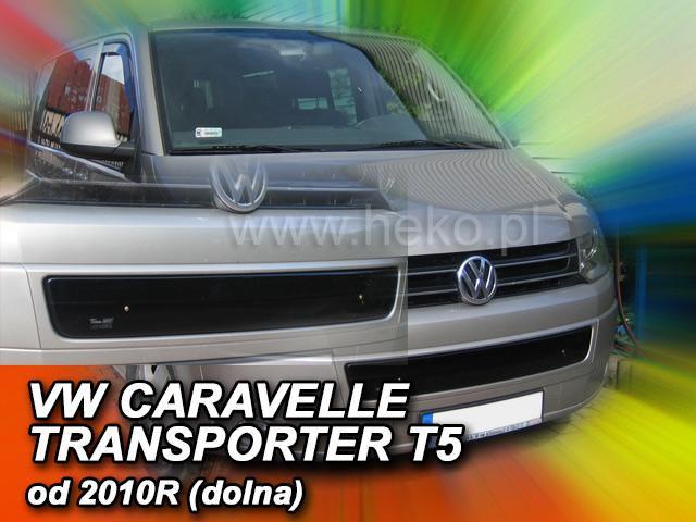 Zimní clona chladiče VW Transporter T5 2009-2015 (dolní)