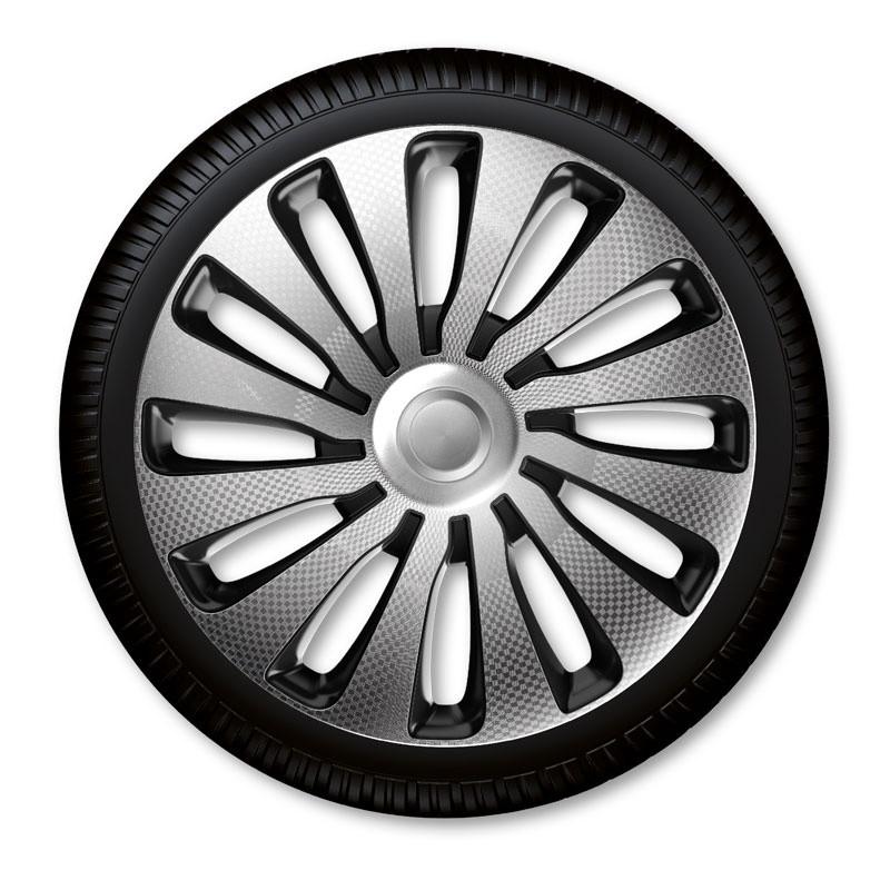 "Poklice Sepang Carbon Silver Black - 15"""
